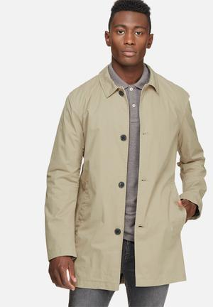 Selected Homme Smash Coat Stone