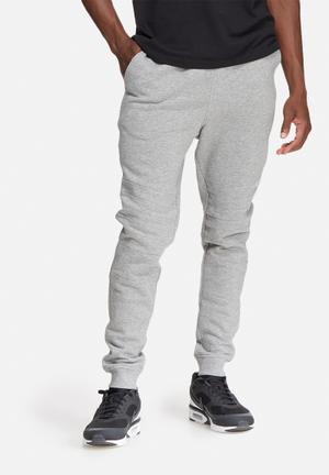 Jack & Jones CORE Biker Sweat Pant Sweatpants & Shorts Grey Melange