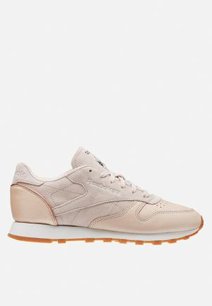 Reebok Classic Leather Neutrals Sneakers Veg Tan / Sandtrap / Rose Gold / Chalk / Lead-Gum
