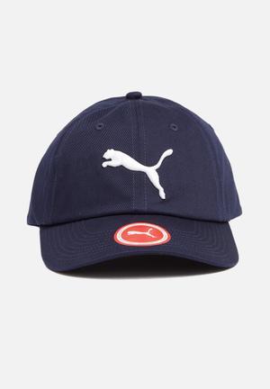 PUMA Ess Cap Headwear Navy & White