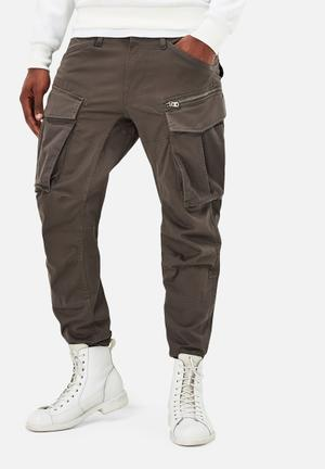G-Star RAW Rovic Zip 3D Tapered Pants & Chinos Grey