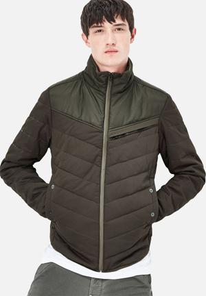 G-Star RAW Attacc Padded Jacket Green