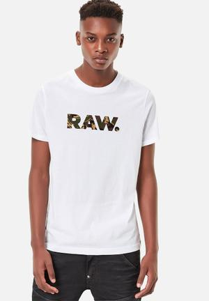 G-Star RAW Mattow Tee T-Shirts & Vests White