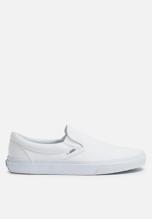 Vans Classic Slip On Sneakers White / White