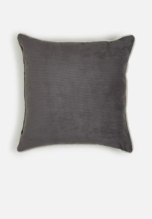 Sixth Floor Cord Cushion  89% Polyester 10% Polyamide 1% Cotton