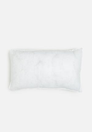 Sixth Floor Cushion Inner 55cm X 35cm Hollowfibre