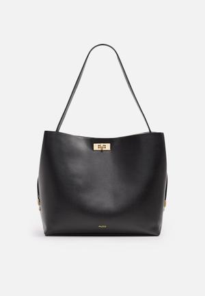 ALDO Plataci Bags & Purses Black & White