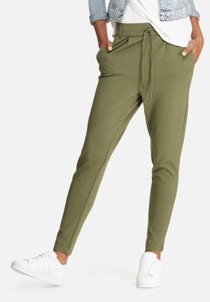 ONLY Poptrash Pants Trousers Green