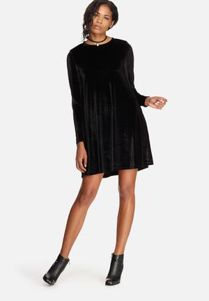 ONLY Mica Velvet Dress Occasion Black