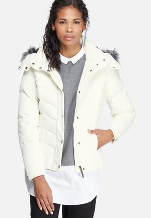 ONLY Sierra Short Down Jacket White