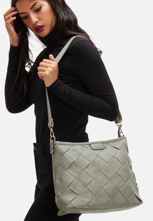 Dailyfriday Daphne Woven Bag Grey