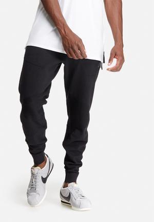 Nike Tech Knit Pants Sweatpants & Shorts Black