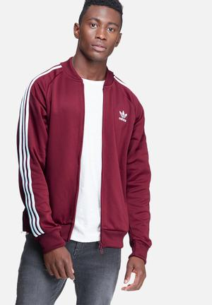 Superstar track top