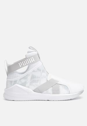 PUMA Fierce Strap Swan Sneakers  Puma White