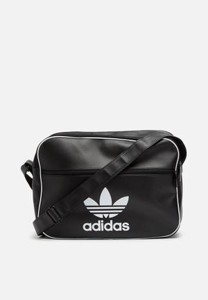 Adidas Originals Airliner Classic PU Bag Black & White