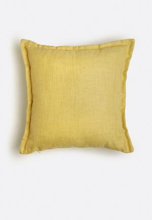 Sixth Floor Vista Cushion  91% Polyester 9% Linen