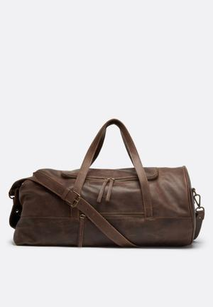 FSP Collection Military Duffel Bags & Wallets Brown