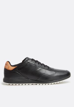 Diesel  S-Swifter Sneakers Black / Vachetta