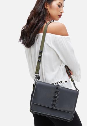 Steve Madden Bdart Bags & Purses Black & Khaki