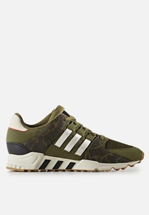 Adidas Originals EQT Support RF Sneakers Olive Cargo F16/Off White/Core Black