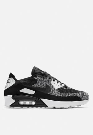 Nike Air Max 90 Ultra 2.0 Flyknit Sneakers Black / Black / White