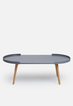 Eleven Past Charcoal Table Wood