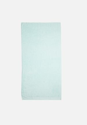Sixth Floor Blue Bath Sheet Towels 100% Cotton, 500gsm