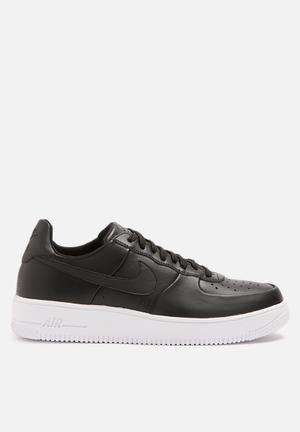 Nike AF1 Ultraforce Leather Sneakers  Black / White