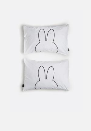 Hello Dolly Peekaboo Pillowcase Set Of 2 Bedding 100% Cotton