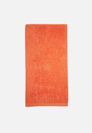 Sixth Floor Coral Bath Sheet Towels 100% Cotton, 500gsm