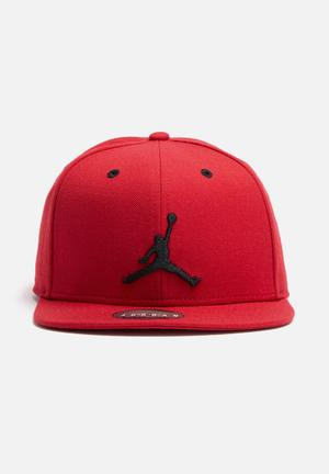 Nike Jordan Jumpman Snapback Headwear Red & Black