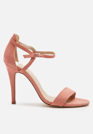 ONLY Astrid Heeled Sandal Blush Pink