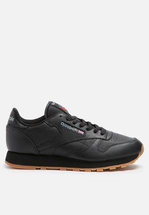 Reebok Reebok Club Classic Leather Foundation Sneakers Int-Black/Gum