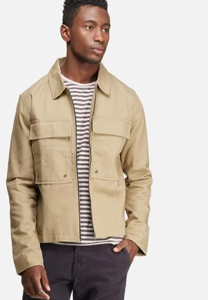 Only & Sons Becks Jacket Stone