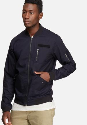 Only & Sons Become Jacket Navy & Black