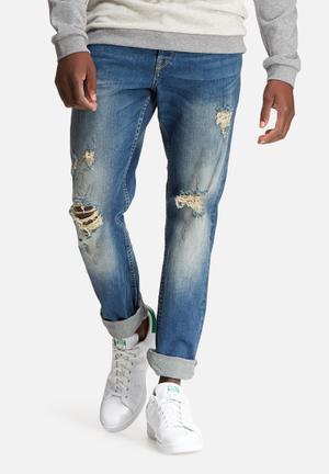Only & Sons Weft Regular Denim Jeans Blue