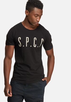 Sergeant Pepper Printed Scoop Tee T-Shirts & Vests Black