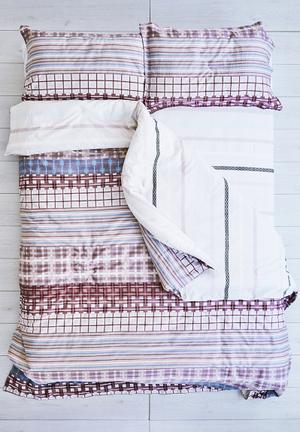 Cotton Cloud Checkmate Duvet Set Bedding 100% Cotton & 500 Thread Count