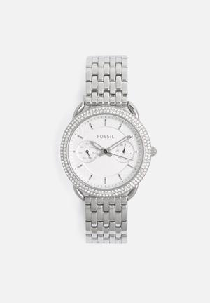 Fossil Tailor Watches Silver