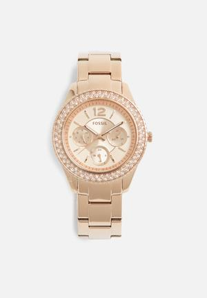 Fossil Stella Watches Rose Gold