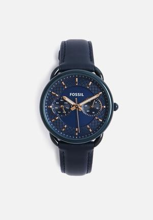 Fossil Tailor Watches Blue