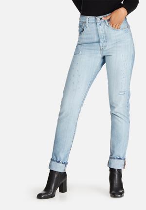 Levi's® 501 Skinny Boyfriend Jeans Blue