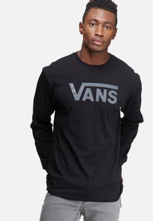 Vans Vans Classic Tee T-Shirts & Vests Black & Grey