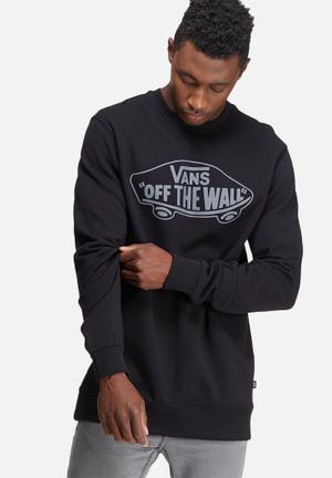 Vans OTW Crew Sweat Hoodies & Sweatshirts Black & Grey