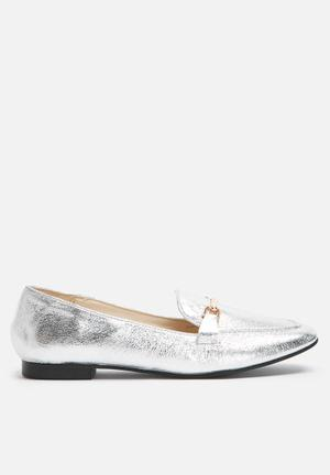 Dailyfriday Metallic Loafer Pumps & Flats Silver