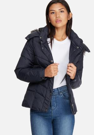ONLY Sierra Short Down Jacket Navy