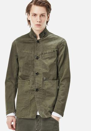 G-Star RAW Bristum Blazer Jackets Green