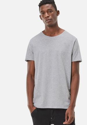 G-Star RAW Base Crew Neck 2pack Tee T-Shirts & Vests Grey Heather