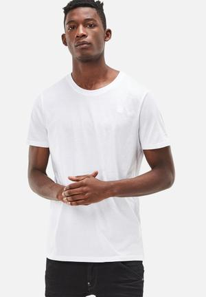 G-Star RAW Base Crew Neck 2pack Tee T-Shirts & Vests White