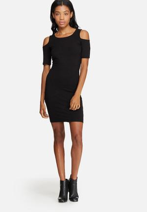 ONLY Roma Lurex Dress Casual Black